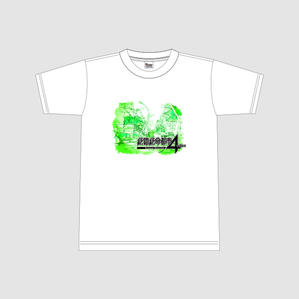 【アパレル】絶体絶命都市4Plus Tシャツ(ロゴ) ホワイト