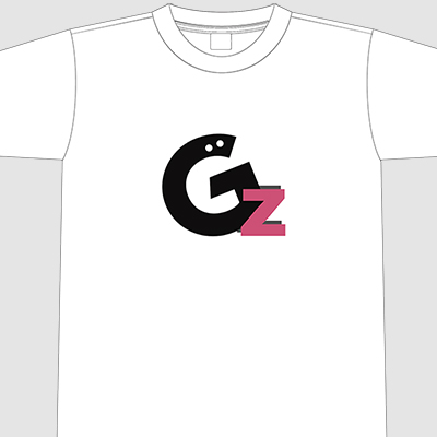 【アパレル】GzロゴTシャツ  ホワイト