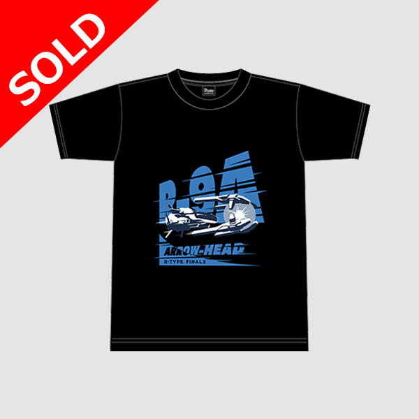 "【アパレル】R-TYPE FINAL2  R-9A ""ARROW HEAD"" Tシャツ"