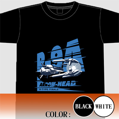 "【アパレル】R-TYPE FINAL 2  R-9A ""ARROW HEAD"" Tシャツ"