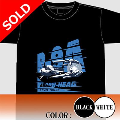 """【アパレル】R-TYPE FINAL 2  R-9A """"ARROW HEAD"""" Tシャツ"""