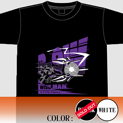 "【アパレル】R-TYPE FINAL2  R-9W ""WISE MAN"" Tシャツ"