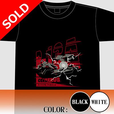 """【アパレル】R-TYPE FINAL 2  R-13A """"CERBERUS"""" Tシャツ"""