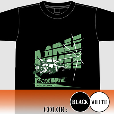 "【アパレル】R-TYPE FINAL 2 R-9DH""GRACE NOTE"" Tシャツ"
