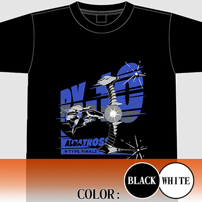 "【アパレル】R-TYPE FINAL 2 RX-10""ALBATROSS"" Tシャツ"