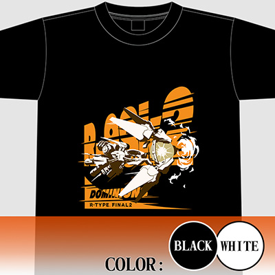 "【アパレル】R-TYPE FINAL 2 R9-Sk2""DOMINIONS"" Tシャツ"