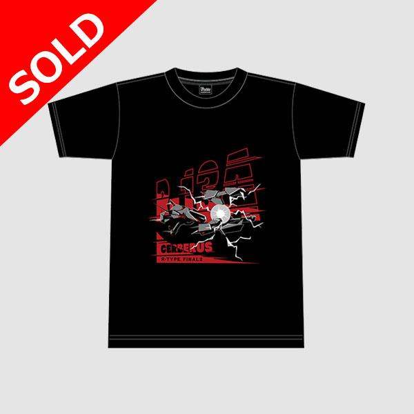 """【アパレル】R-TYPE FINAL2  R-13A """"CERBERUS"""" Tシャツ"""